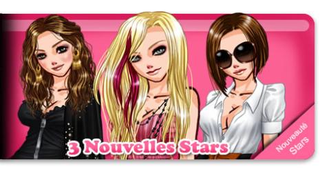 3 nouvelles stars