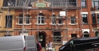 Temple Antoiniste de Schaerbeek avant rénovation (facebook architecturevivante)