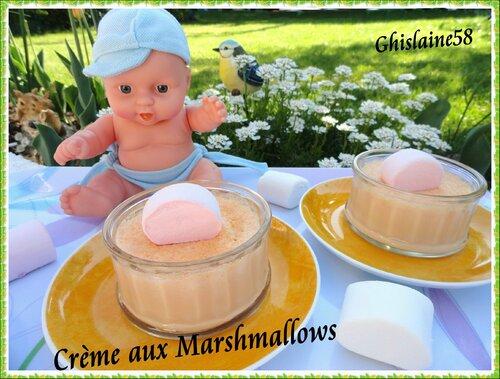 Crème aux Marshmallows