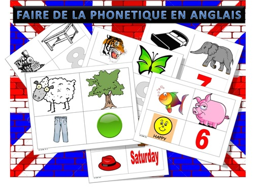 Faire de la phonétique en anglais  cycle 3