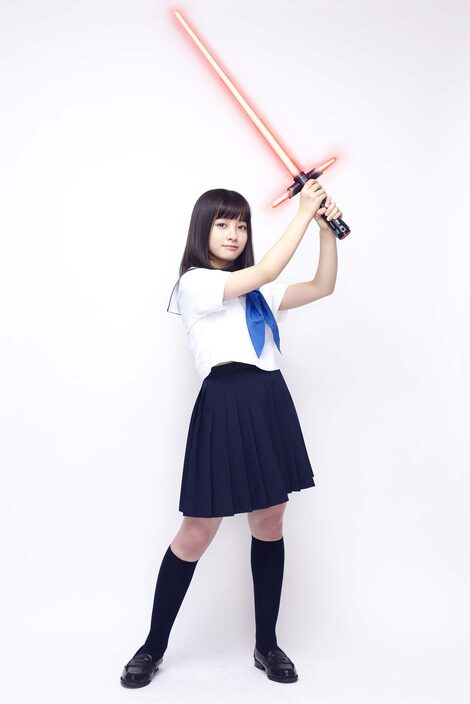 Models Collection : ( [KADOKAWA - みんなのスター・ウォーズ] - |2015-2016| エンタミクス - インタビュー・コラム - 新連載 / Kanna Hashimoto/橋本環奈 )