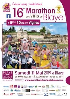 Marathon des Vins de Blaye - Samedi 11 mai 2019