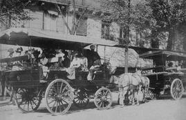 si nous vivions en 1913 : Eugène Atget - Chars-à-bancs