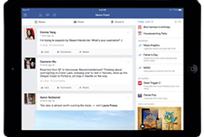 Une mise à jour Facebook pour l'iPad