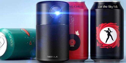 Nebula Capsule : un video-projecteur de poche connecté