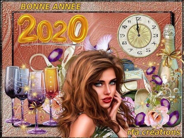 BONNE ANNÉE 2020 À VOUS TOUS!