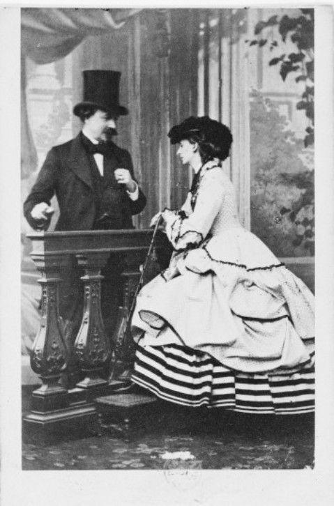 Le duc et la duchesse de Morny: