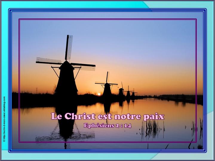 Le Christ est notre paix - Ephésiens 2 : 14