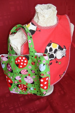 Quelques nouveaux tabliers et sacs enfants