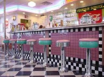 Milton's 50's diner and second service