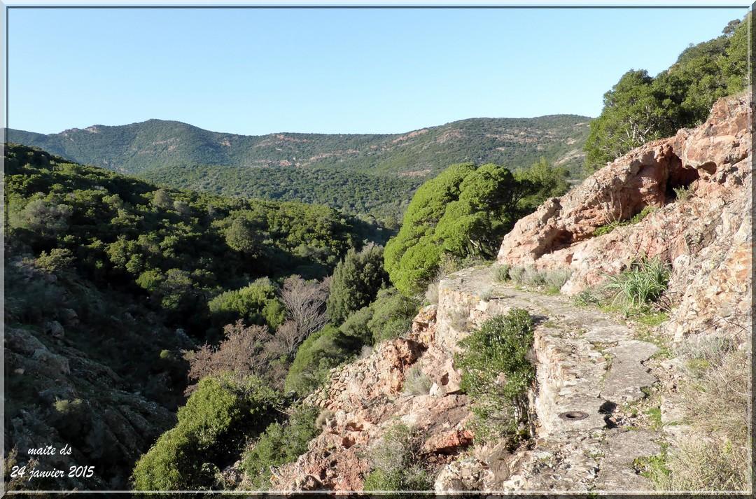 En route pour le barrage de Galéria - Corse