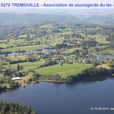 Lac de la Crégut-vue aérienne-1