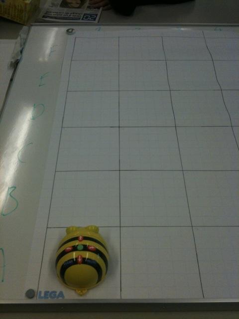 Bee-bot tableau