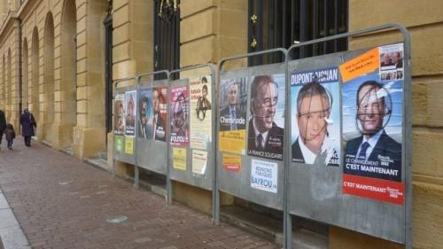 Présidentielles 2012 - 1er tour demain