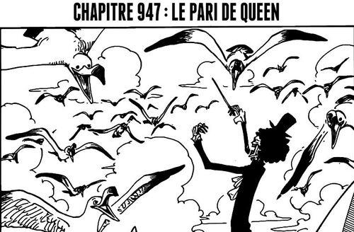 One Piece Scan chapitre 947 en VF Version Française - Lecture en Ligne