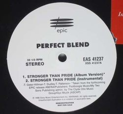 PERFECT BLEND - STRONGER THAN PRIDE (VLS 1998)
