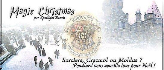 Magic Christmas banner