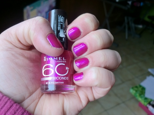 Vernis Rimmel 60 secondes 619 PULSATING