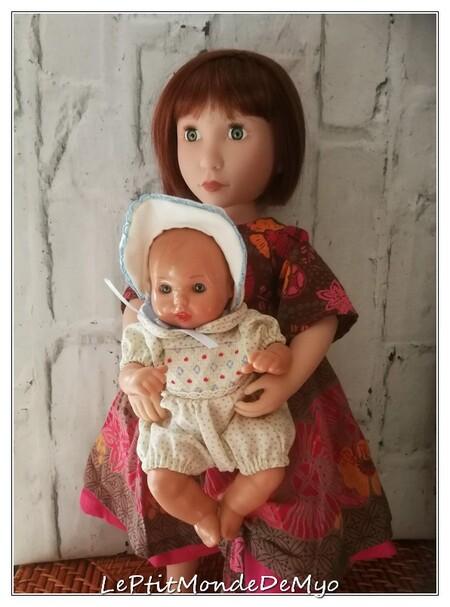 Dressing et baby-sitting pour Clémentine