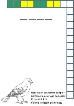 Dessin du bonhomme (sans ailes)