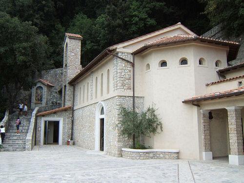 Le sanctuaire de Greccio...