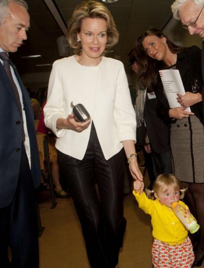 Mathilde et les enfants