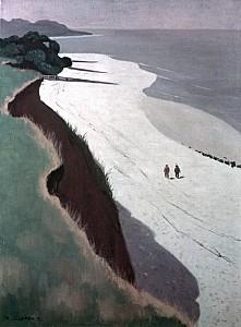 Félix+Vallotton,+la+falaiseet+la+grève+blanche,+1913