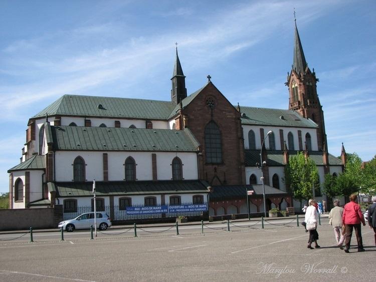Marienthal 67 : Basilique Notre Dame 1/2