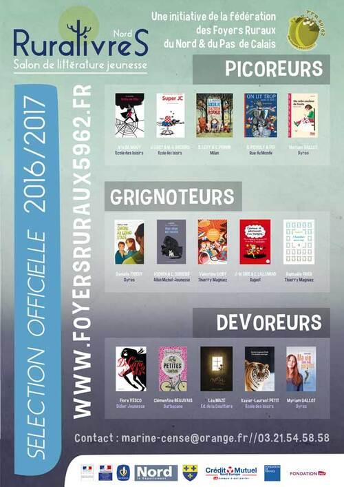 sélection 2016 / 2017