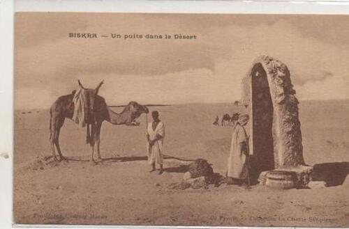 un puits à Biskra