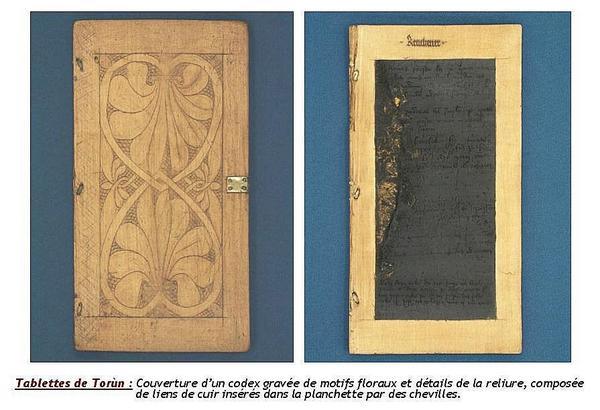 comptes sur tablettes de cire de Jean Sarrazin, chambellan de saint Louis