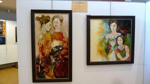 12ème Salon de peinture et de sculpture à St Amarin (Alsace)