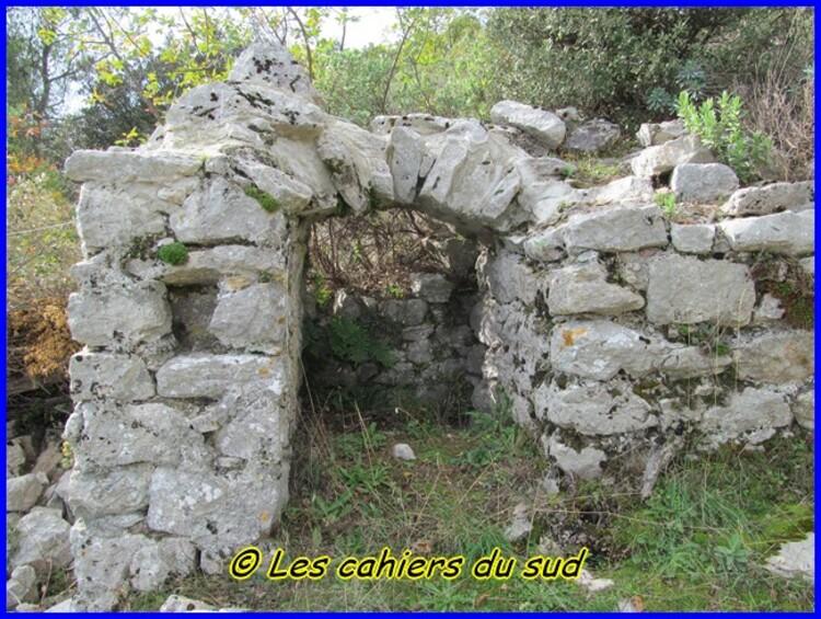 Le château du vieux Nans