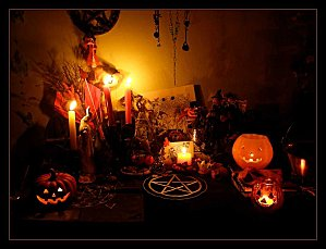 Samhain Altar 2009 by Wilhelmine