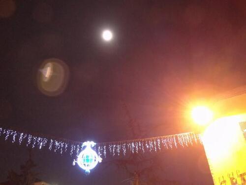 L'esprit de Noel souffle sur la  Nouvelle Lune du 22 décembre 2014 dans un ciel Sagittaire ascendant Balance, ciel du Solstice