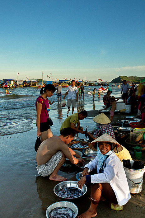 Plage Vietnamienne de chez les Vietnamiens bien Viets