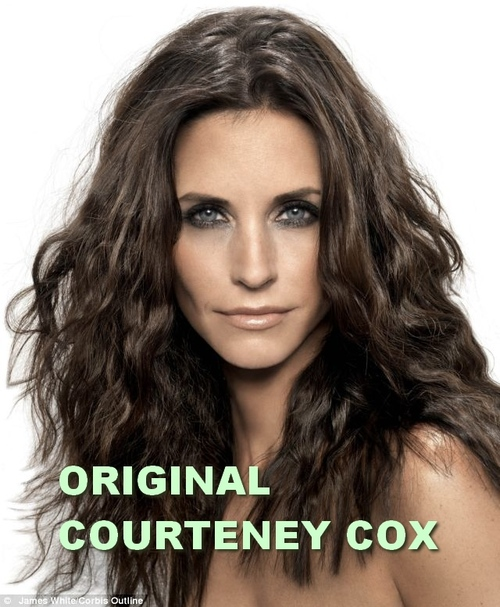 Portraits Courteney Cox