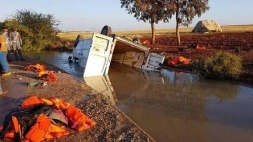 Migrants tués dans un accident: deux suspects arrêtés