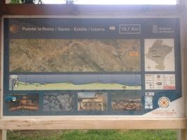 5ème étape : Puente-la-Reina  à Ayegui