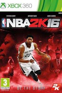 NBA 2K16 est un jeu de sport sur Xbox 360 permettant de pratiquer le basket-ball. Le joueur peut créer un joueur personnalisé, gérer une équipe complète ou encore profiter du mode online. Les animations des joueurs sont créées de façon à donner un rendu visuel et technique le plus réaliste possible.  -----  Editeur(s) / Développeur(s) : 2K Sports | Visual Concepts Sortie France : 29 Septembre 2015 Genre(s) : Sport Thème(s) : Basket Classification : +3 ans