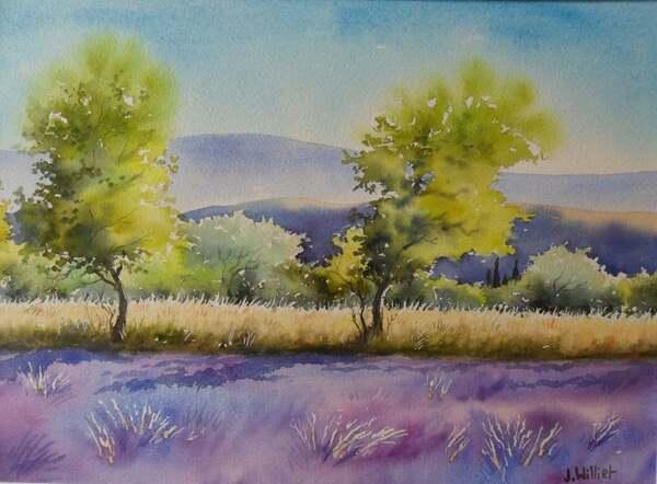 Peinture de : Jacques Willied