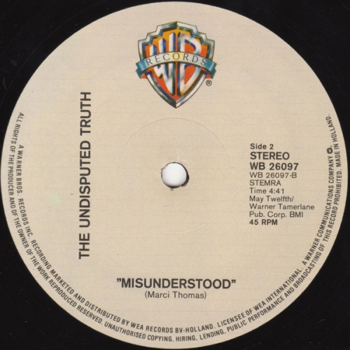1979 : Single 12 Inch Whitefield Records WHID 8738 [ US ]