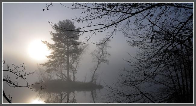 """Défi chez Gisèle """"imagecitation"""" La brume"""