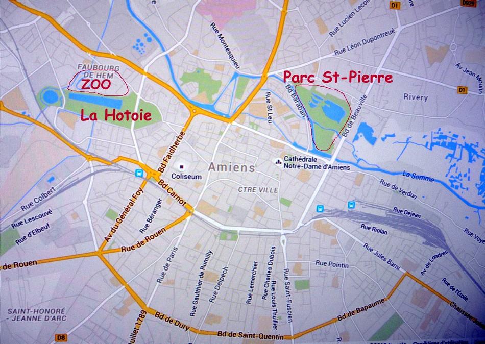 Zoo amiénois, en plein centre ville !