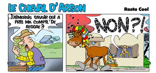 Le cheval d'Arson