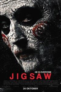 Jigsaw : Après une série de meurtres qui ressemblent étrangement à ceux de Jigsaw, le tueur au puzzle, la police se lance à la poursuite d'un homme mort depuis plus de dix ans. Un nouveau jeu vient de commencer... John Kramer est-il revenu d'entre les morts pour rappeler au monde qu'il faut sans cesse célébrer la vie, ou bien s'agit-il d'un piège tendu par un assassin qui poursuit d'autres ambitions ? ... ----- ...  Origine : Américain  Réalisation : Michael Spierig  Durée : 1h 32min  Acteur(s) : Matt Passmore,Tobin Bell,Callum Keith Rennie  Genre : Epouvante-horreur,Thriller  Date de sortie : 1 novembre 2017  Titre original : Saw VIII  Critiques Spectateurs : 3,4  Critiques Presse : 1,7