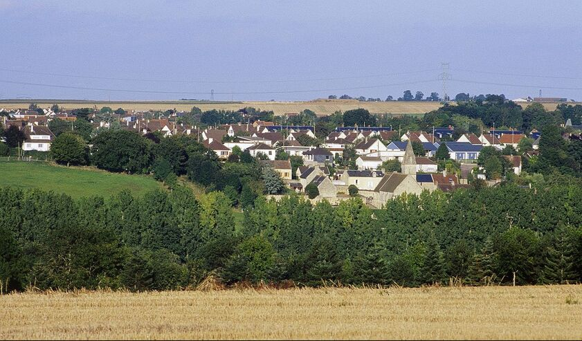 Le village de Saint André-sur-Orne.