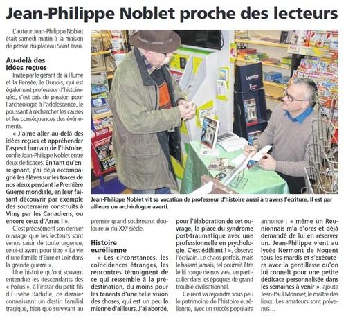 """Articles parus depuis la sortie du livre """"Une famille d'Eure-et-Loir dans la Grande Guerre"""""""