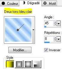 Animation Noel Bleu