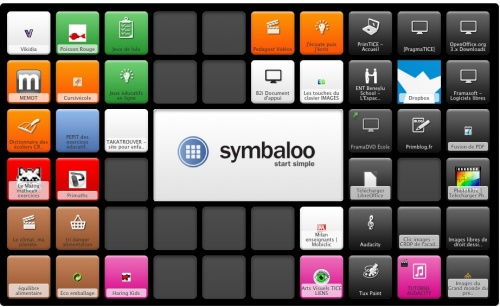 Marque Page symbaloo spécial TUIC